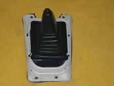 DATSUN 280ZX 5SPD SHIFT BOOT WITH MOUNTING PLATE BLUE COLOR  1979-1983
