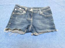 River Island Denim Patternless Mid Rise Shorts for Women