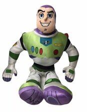 "Disney Store Pixar Toy Story Buzz Lightyear 18"" Plush Soft Face Disney Stamped"