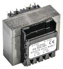 20V ac 2 Output Through Hole PCB Transformer, 3VA