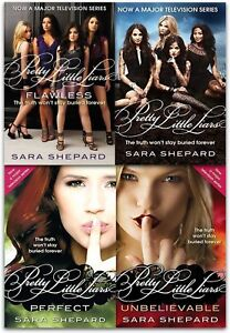 Pretty Little Liars Series 1 Collection Sara Shepard 4 Books Set NEW Flawless