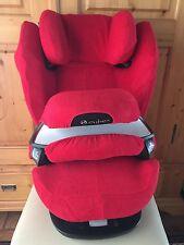 Sommerbezug Schonbezug Frottee für Cybex Pallas M und S + M und S-Fix NEU rot