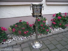 Chrom / Gold Design Champagnerkühler Deinhard Kühler Sektkühler Weinkühler