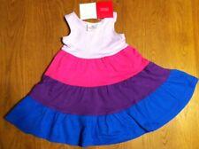 Hanna Andersson Racerback Sleeveless Twirl Dress Purple Multi  Size 80 NWT