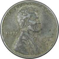 1943 D Lincoln Wheat Cent AG About Good Steel Penny 1c Coin Collectible