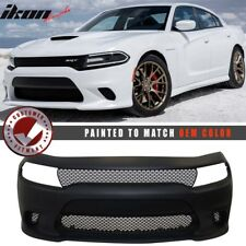 Fits 15-18 Charger SRT8 Style Conversion Front Bumper Cover Painted OE Color