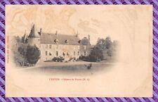 CPA - 58 - CERVON - Château de Pontot