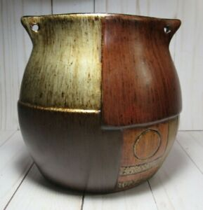 VASE, OBLONG, MODERN, BROWN & EARTH TONES, HOME DECOR, LIGHTWEIGHT STURDY CLAY