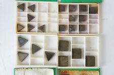 Widia Wendeschneideplatten Konvolut 4 Sorten aus Lagerbestand