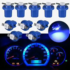 10X T5 B8.5D 5050 1SMD LED Dashboard Dash Gauge Interior Instrument Light Bulbs