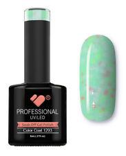 1293 VB Line Yogurt Green Neon Glitter - gel nail polish - super gel polish