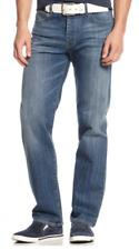 Armani Jeans Men's J21 Straight Fit Light Wash Jeans,OMJ71/2K, Size 30X30, $125