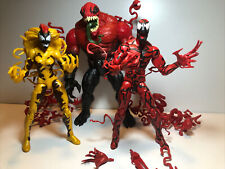 Marvel Legends Symbiote Lot Of 3 Carnage Toxin Scream