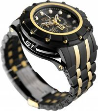 @NEW Invicta S1 Rally Reserve ChronoGraph Carbon Fiber Dial Black Bracelet 16950