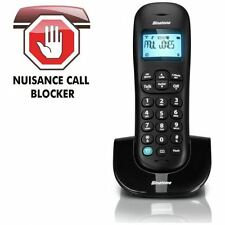 Binatone Vesta 1305 Black Cordless Home Phone Telephone + Nuisance Call Blocker