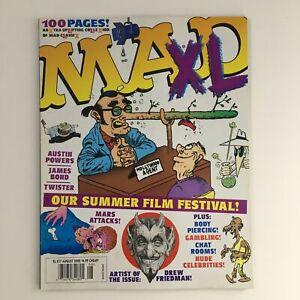 Mad XL Magazine August 2002 #17 Summer Film Festival FN Fine 6.0