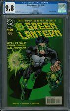 GREEN LANTERN V3#100 CGC 9.8 (7/98) DC variant white pages