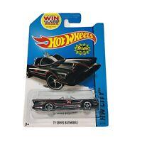 2014 Hot Wheels HW City Batman TV Series Batmobile New On Long Card