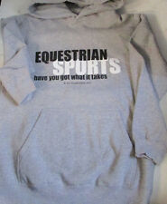 WILD HORSE FEATHERS-GRAY YOUTH SIZE-EQUESTRIAN SPORTS HAVE YOU GOT WHAT IT TAKES