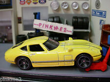 2014 Hot Wheels TOYOTA 2000GT ~ YELLOW~ New LOOSE~HW Workshop All Stars