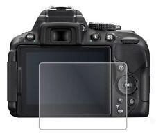 3 X Transparente Lcd Film Protector De Pantalla De Aluminio Saver Para Nikon D5300