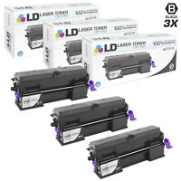 LD Compatible Ricoh 407316 Set of 3 Extra HY Black Toners for MP 401SPF