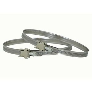"""SAME DAY DISPATCH: 2x Duct Jubilee Clip Clamps 12.4"""" Diameter Flexible Ducting"""