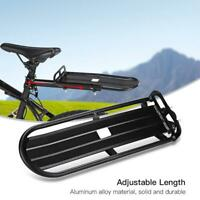 Bike Bicycle Rear Seat Rack Luggage Shelf Bracket Post Mount Pannier Carrier
