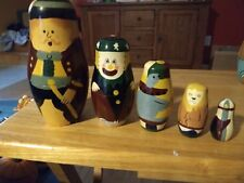Big Top - Hand painted Nesting Doll - 5 pieces