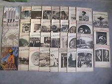 L'illustration année 1935 - Lot de 34 numéros