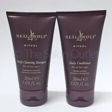 Neal & and Wolf Ritual Daily Cleansing Shampoo 50ml & Conditioner 50ml Travel
