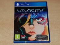 Velocity 2X Crital Mass Edition PS4 Playstation 4 With Soundtrack CD