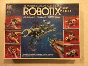 Vintage Lot 1984 Robotix Series R1000 Building System Parts & PIeces