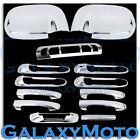 Dodge Ram 1500+2500+3500 Chrome Mirror+4 Door Handle+Tailgate+3rd Brake Cover