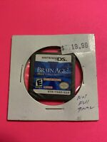 🔥 Nintendo DS NOT FOR RESALE - 💯 AUTHENTIC GAME NFR - BRAIN AGE 2 🔥