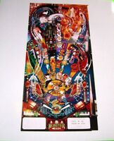 Monster Bash Pinball Machine Promo Photo Original NOS Williams 1998 Game Image