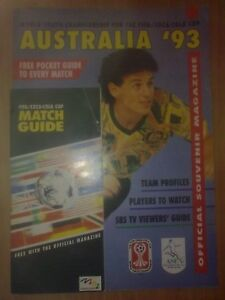 Programme + guide FIFA World Youth Championship 1993 (England, Germany, Norway)