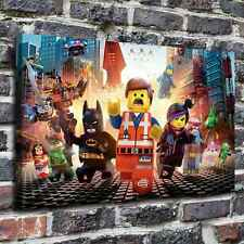 "The lego movie Paintings HD Canvas Print 20""x32"" Home Decor Wall Art Pictures"