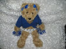 Rare Official NFL Dallas Cowboys Cheerleader Teddy Bear by Forever Collectibles