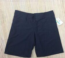 NWT Island Escape Boardshorts Swimwear Color Black Size 10