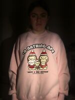 happy xmas bape sweatshirt