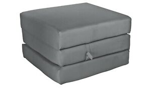 Home Single Mattress Cube - Flint Grey
