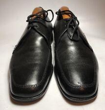 Vintage Grenson footmaster Negro Zapatos Reino Unido 8.5EX