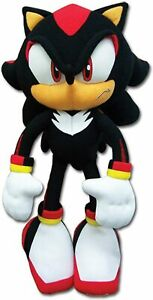 """Great Eastern Shadow The Hedgehog 12"""" inches Stuffed Plush (GE-8967) Licensed"""