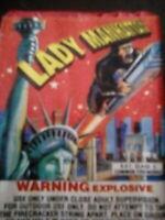 firecracker pack label Lady Manhattan brand Dot C  label Complete SEE  PIX