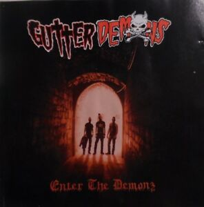 "CD GUTTER DEMONS ""Enter The Demonz"" Psychobillly Punk Oi 2015 (The Brains)"