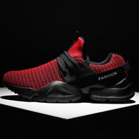 Men's Lightweight Casual Athletic Shoes Breathable Mesh Sneakers Jogging Sports