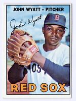 1967 Topps #261 John Wyatt Boston Red Sox Baseball Card