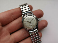 VIntage Beatiful STAINLESS STEEL Watch LONGINES WITTNAUER 17j SERVICED