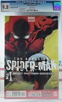 💥 CGC 9.8 NM+ SUPERIOR SPIDER-MAN #1 JOE QUESADA 1:100 VARIANT MARVEL COMICS